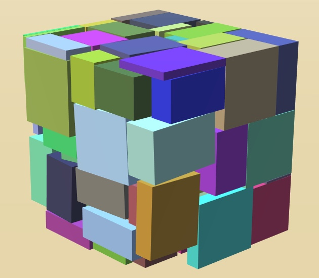 A novel packing heuristic based on rigid body simulation